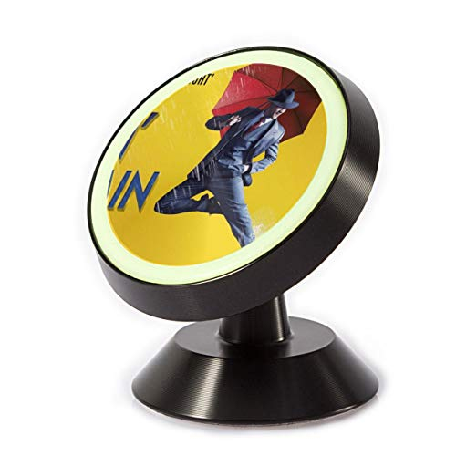 Singin' in The Rain Universal Car Phone Mount, Magnetic Phone Car Mount with 8 Strong Magnets Car Phone Holder