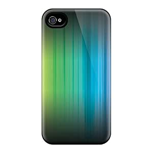 Faddish Phone Rainbow Case For Iphone 4/4s / Perfect Case Cover