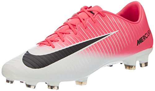 Racer Boot (Nike Mercurial Veloce III FG Mens Football Boots 847756 Soccer Cleats (UK 11 Us 12 EU 46, Racer Pink Black White 601))