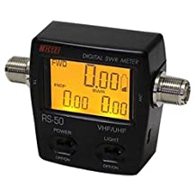 Signstek Professional USB Port or LCD Digital SWR (Standing-Wave Meter) & Power Meter VHF 125-525MHZ 120W For 2 Way Radios