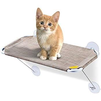 Amazon.com: FURRY BUDDY Percha para ventana de gato con ...