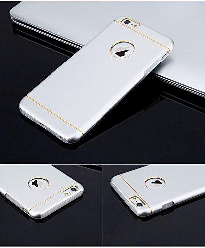iPhone 6s Housse et étuis, Besta® [Metal Shell Series] Slim iPhone 6 Case [Thin Metallic Shell] Premium Textura del metal de aluminio de la cubierta + Amortiguación de Impacto Soft Shell TPU interior