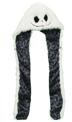 Nightmare Before Christmas Jack Fur Snood Hat