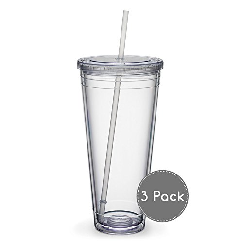 Maars Insulated Travel Tumblers 32 oz. | Double Wall Acrylic | 3 Pack by Maars® Drinkware (Image #2)