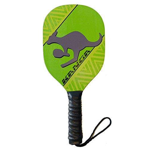 Kanga Wood Pickleball Paddle & Bundles (3 Options: Single Paddle, 2 paddle/4 ball Bundle, 4 Paddle/6 Ball Bundle)