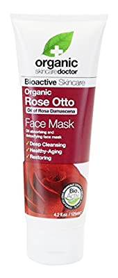 Organic Doctor Rose Otto Face Mask, 4.2 Fluid Ounce by Nbtyinc - Us Nutritioninc