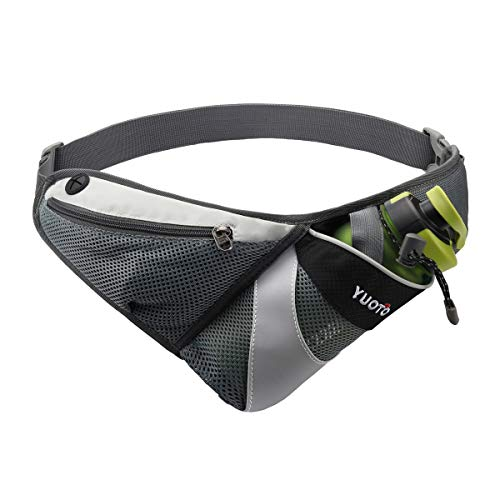 YUOTO Waist Pack with Water Bottle Holder