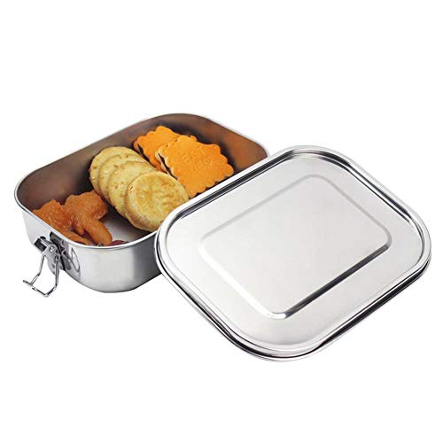 304 Stainless Steel Lunch Box Bento box Metal Food Container