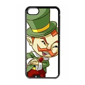 the legend of zelda spirit tracks iPhone 5c Cell Phone Case Black PSOC6002625686960