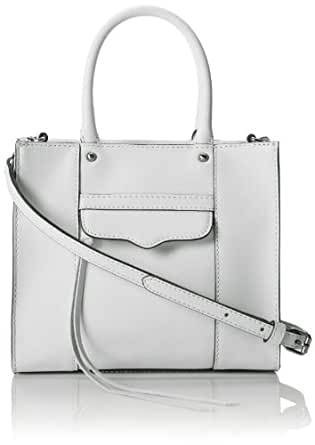Rebecca Minkoff MAB Mini Cross Body Bag,Pale Grey,One Size