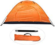 Outdoor Tent, Outdoor Single Person Leisure Waterproof Tent for Camping Fishing Climbing