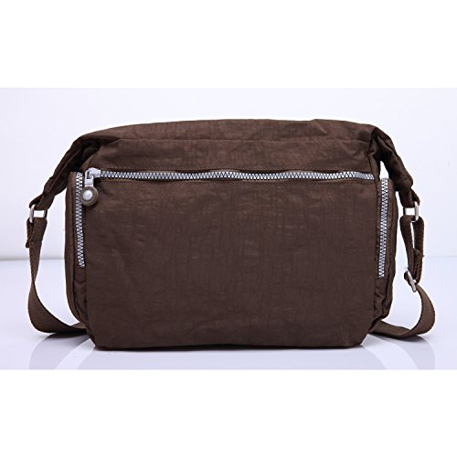 Fashion Messenger Side For Body Foino Sport Shoulder Bag Brown Crossbody Girls Travel Women Pack Designer Bookbag Satchel Cross WpxYqC0x