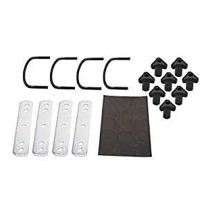 Cargo Carrier Mounting Kit - Use With Thule Cargo Carriers - Includes 4 U-Bolts and 4 Brackets