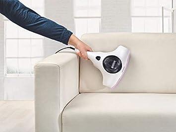 Silvercrest - Aspirador antiácaros para colchones y colchones, con luz UV, lámpara descalcificadora 3 en 1, modo de succión y modo de enrollado y de golpe: Amazon.es: Hogar