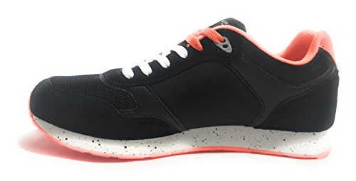 Pelle Tessuto Uomo Nero US ASSN S Sneaker Tiguan black U Polo POLO US18UP18 Scamosciata Col Running Scarpe 71Ivq