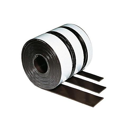 Nastro magnetico, larghezza 12,5 mm, tenuta circa 70 g/mq, lunghezza: 3 m, spessore: 1,5 mm Legamaster 7-186100