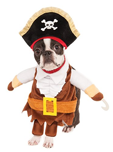 Costumes Dog Colonial (Rubies Costume Walking Pirate Pet Costume,)