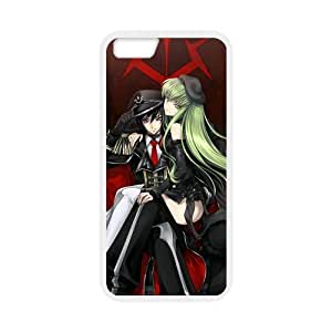 MeowStore Japanese Cartoon Code Geass Lelouch Lamperouge C.C Iphone 6 (4.7 inch) Case Cover Phone Case Shells