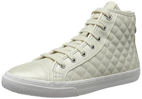Mujer Blanco White Geox C1000 D Giyo para Altas Zapatillas qw1XOHT