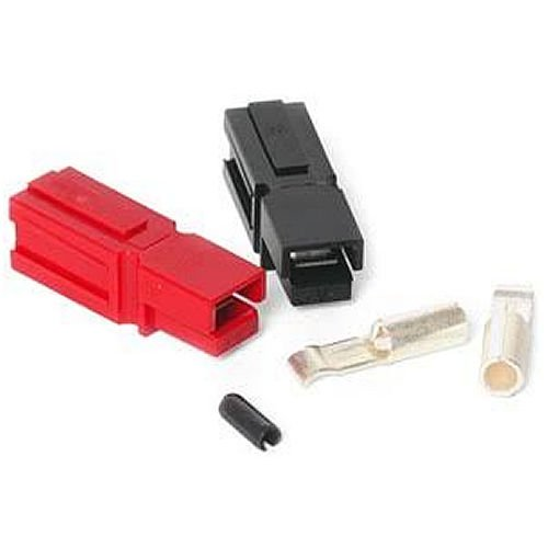 Anderson Connector (30 Amp Unassembled Red/Black Anderson Powerpole Connectors Complete with Roll Pin (10 sets))