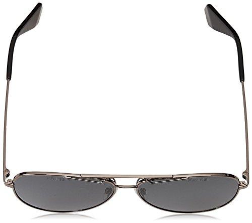 gris POLARIZADA XKJ1M9 metal hombre 6048 60 montura aviador S gris Polaroid sol lentes gafa en qzS14Z6Cw