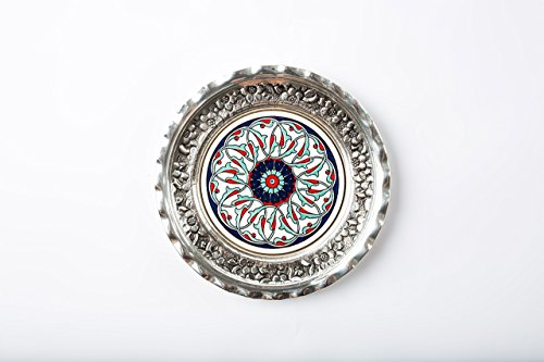 Silver Coated Plate - 7