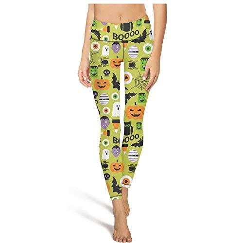 juiertj rt Long Hiking Various Weirdo Halloween Leggings Women's Printed Sweatpants Yoga Pant