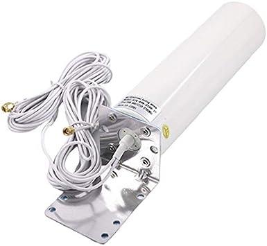 Facibom Antena WiFi 4G LTE Antena SMA 12DBi Omni Antena Macho ...