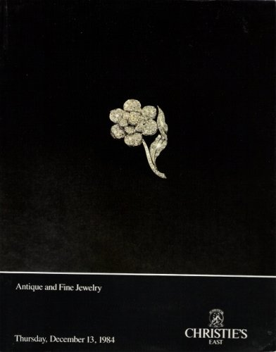 Christie's Antique and Fine Jewelry [Christie's East, 13 Dec. 1984, Sale (David Webb Jewelry)