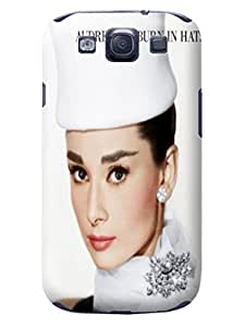 Steven L.Cummings Life quotes unique inspirational fashion tpu phone cases/covers for Samsung Galaxy s3 (Audrey Hepburn)