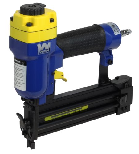 WEN 61720 3/4-Inch to 2-Inch 18-Gauge Brad Nailer Crown Molding 2 Light