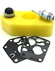 Briggs and Stratton Lawn Mower Service Kit Suitable for the Classic and Sprint, Air Filter, Plug, Primer Bulb and Diaphragms