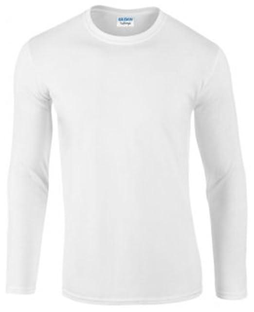 Amazon lunghe maniche Gildan a Maglietta Abbigliamento it Softstyle xwBWq8I1