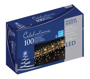 100 Led Icicle Lights in US - 9
