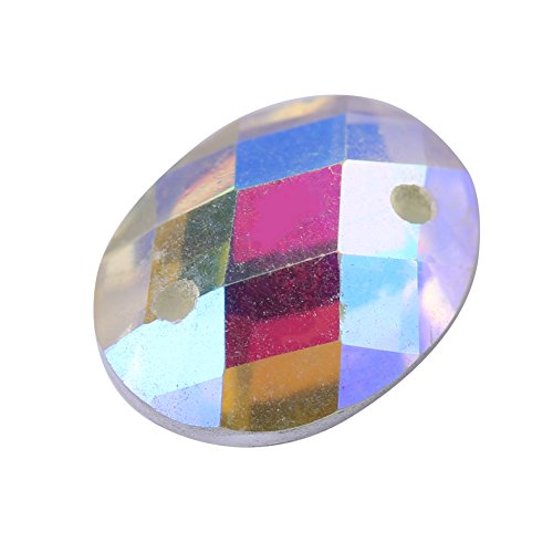 Crystal Crystal Hole Art Resin Accessories for Nail Decorations Dress Flatback Clothing 5 AB Shiny Clear Sewing Color with 200pcs Eye Horse Craft Button OZqf5wvv