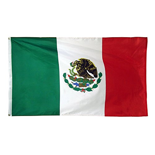 Anley B0018AA7TK Mexico Flag Polyester product image