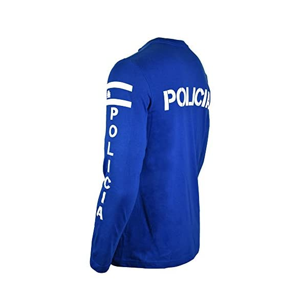 Aircops Camiseta Policia Manga Larga Hombre 3