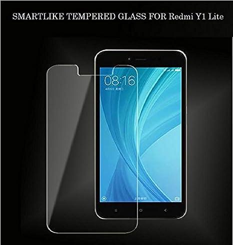 SmartLike Tempered Glass for Xiaomi Redmi Y1 Lite Mobile Accessories