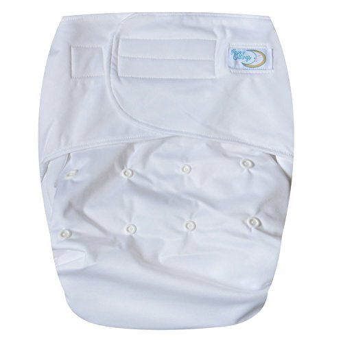 HappyEndings Teen/Adult Hook and Loop Closure Stain Resistant Reusable Cloth Diaper for Incontinence