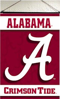 Alabama Indoor Scroll Banner