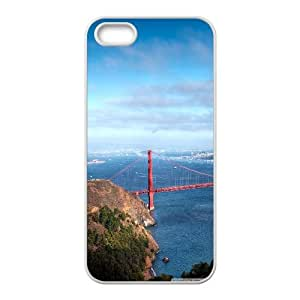 Iphone 5/5S Case san francisco panorama White tcj525229 tomchasejerry