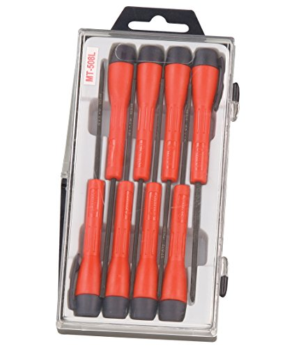 Genius Tools 8Pc Micro-Tech Screwdriver Set MT-508L