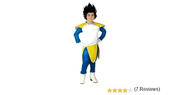 Disfraz de Vegetta (Talla 10-12 a?os): Amazon.es: Juguetes y juegos