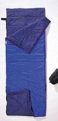 Cocoon Nylon Tropic Traveler Sleeping Bag (Royal Blue, 79-Inch x 32-Inch)