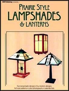 Frank Lloyd Wright Stained Glass Pattern (Prairie Style Lampshades & Lanterns)