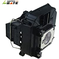 Replacement projector lamp for Epson V13H010L68, ELPLP68, V12H010L68