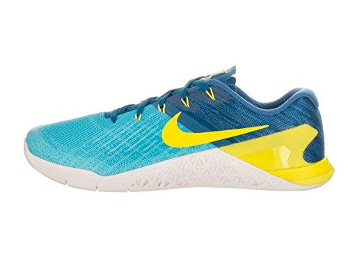 Nike Mens Metcon 3 Training Shoe Chlorine Blue/Electrolime