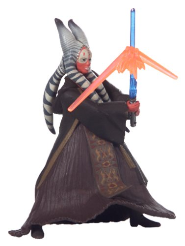Star Wars, 2002 Saga Collection, Shaak Ti Action Figure #10, 3.75 Inches