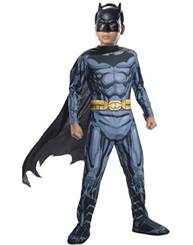 Batman Outfit For Kids (Rubies DC Super Heroes Child Batman Costume, Small (4-6))