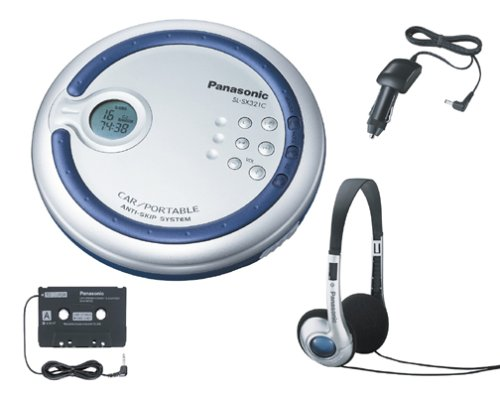 Panasonic SL-SX321C Portable CD Player with Car Kit